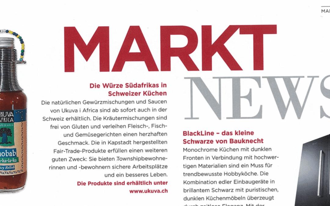 Schweizer Kochen-Magazin Annemarie Wildeisen's Kochen