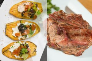 Sweetpoatatoes mit Kalbssteak