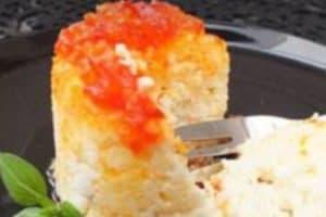 Gebackene Ricotta mit Ingwer&Chili Relish